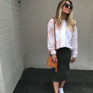 Anthropologie Saturday/Sunday Naomi Knit Skirt